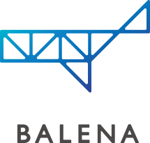 建設BALENA ロゴ