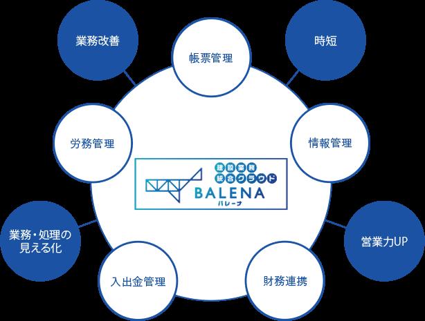 BALENAの仕組み、できることについて 図版